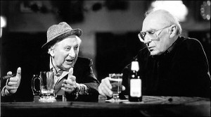Studs Terkel explains it all to Mike Royko