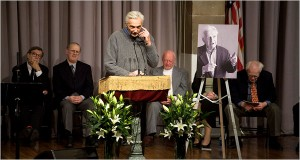 Howard Zinn speaks about Studs Terkel at Cooper Union memorial