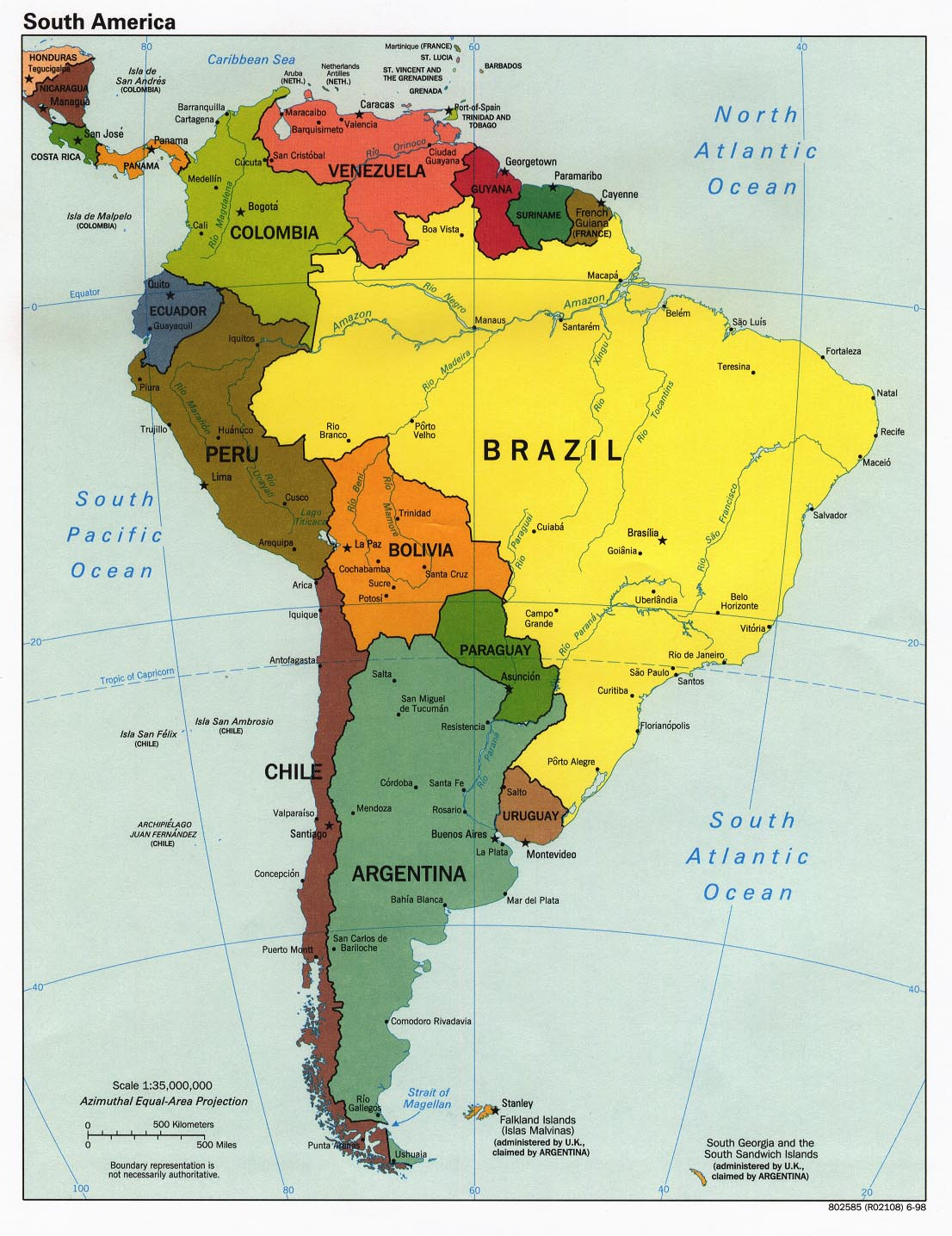 Where, exactly, is Brazil? » MobyLives
