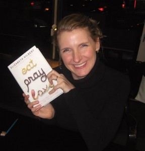 Elizabeth Gilbert and the current love of her life