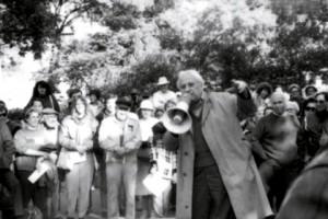 Studs Terkel, rabble-rousing