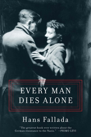 The cover for the initial, hardcover release of Every Man Dies Alone