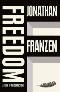 The British cover of Jonathan Franzen's Freedom
