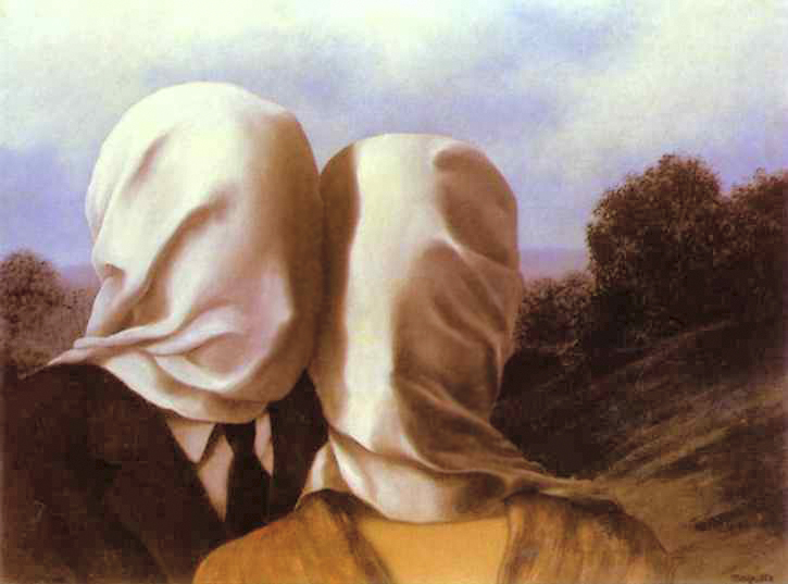 "Rene Magritte's ""The Lovers"""