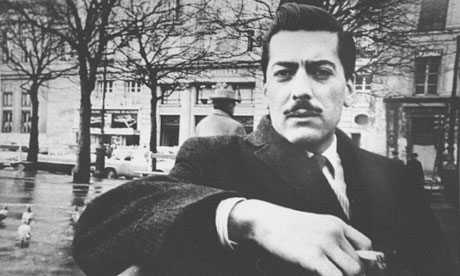 The young Mario Vargas Llosa