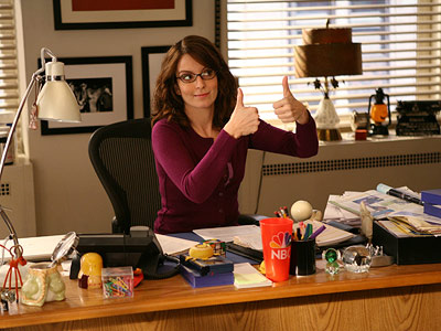 Tina Fey, winner of Audiobook of the Year for Bossypants