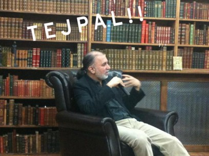 Tarun Tejpal takes The Strand