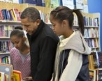 Obama supports an independent bookstore