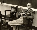 William Faulkner taking a break.