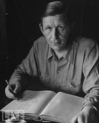 W H Auden another time