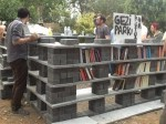 Taksim Gezi Park now has a public library, thanks to protesters and the support of a number of publishing houses. (Hurriyet Daily News)