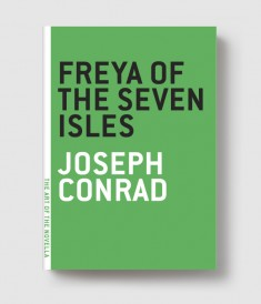 The funny, romantic, and characteristically tense Conrad novella about one man's journey to... oh. Well, to seven sandbars in the South Seas. He rolls up his pantaloons, he looks around. Nothing much there. Some dead tree trunks. Then he goes home. THRILLING.