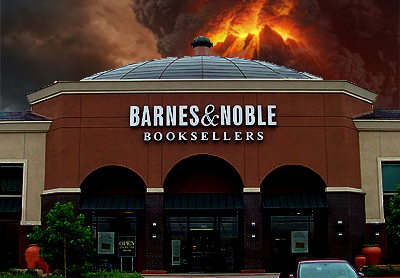 B&N earnings fall