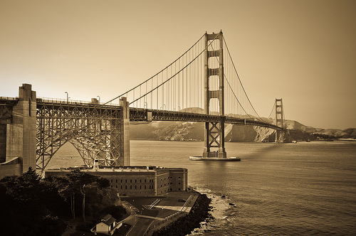 The Golden Gate Bridge: 75 years in literature