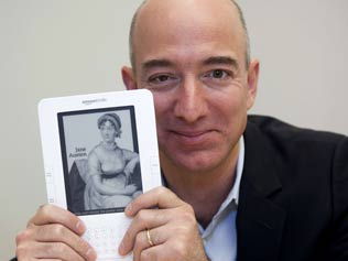 So long Jane Austen --- Amazon planning to have ads in Kindles