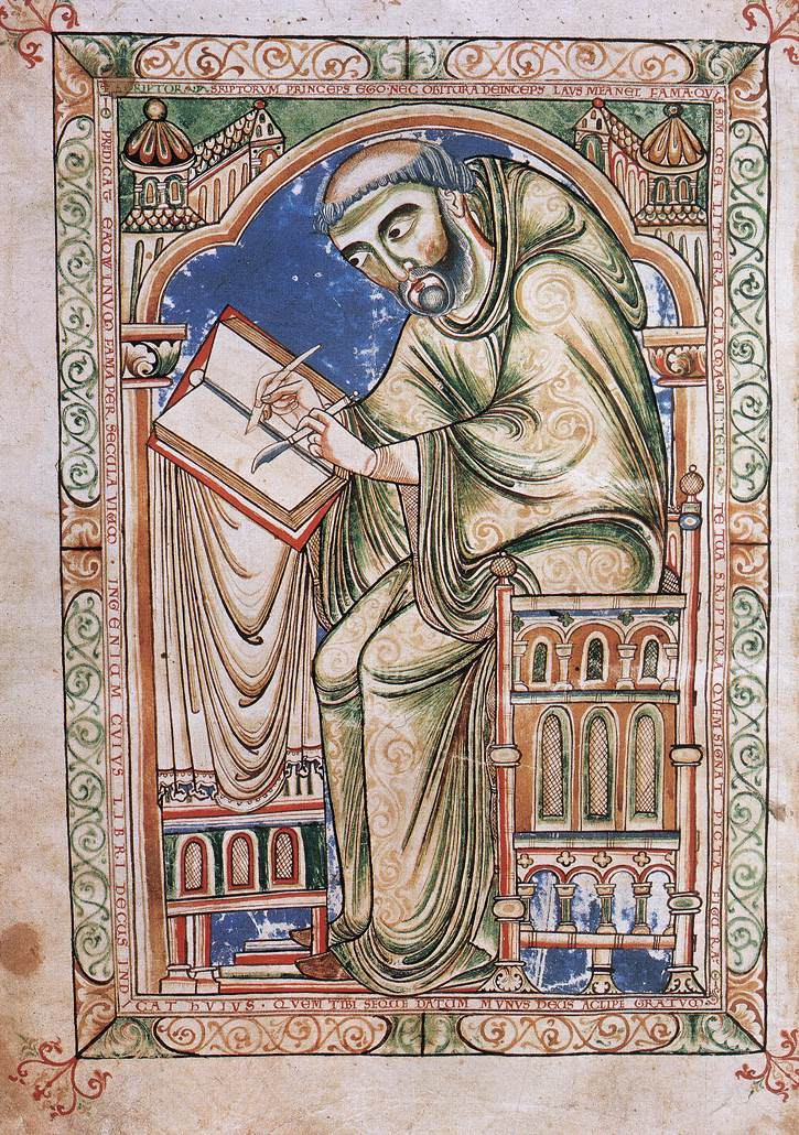 St. Patrick of Armagh, deliver me from writing