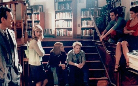 Sunnydale High School Library - Buffy the Vampire Slayer