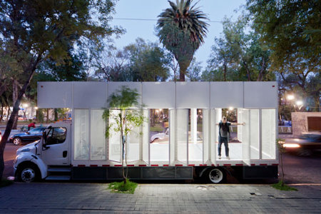 Mexico's library on wheels