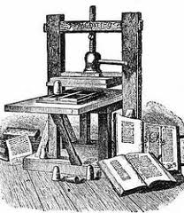 Gutenberg in the copy shop