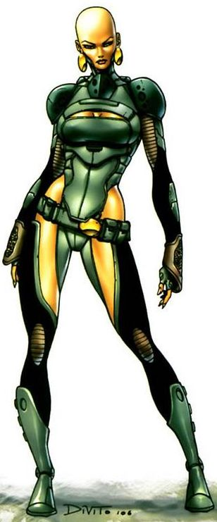Moondragon is a bisexual telepath, telekinetic, and geneticist with a superiority complex.