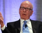 Rupert Murdoch laughs at Penguin-Random House merger