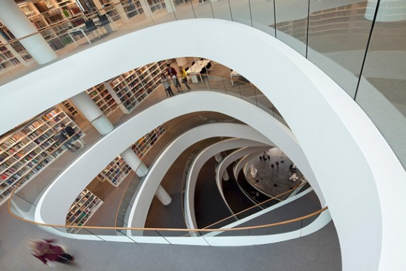 University of Aberdeen Library in Aberdeen, Scotland