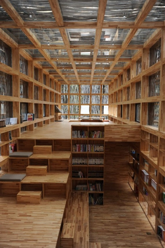 Liyuan Library in rural China, near Beijing
