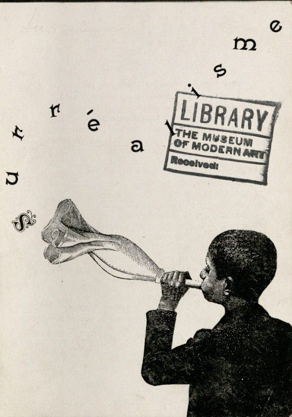 This image is from the MoMA Library tumblr, and shows that they used to have unfortunate stamping practices.