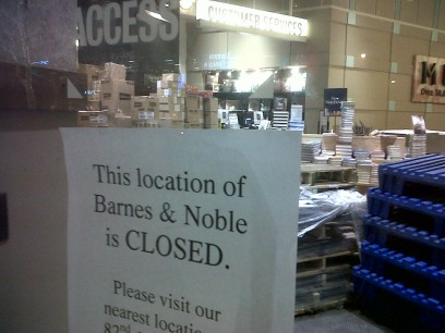 The wrong goodbye of Barnes and Noble