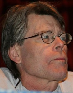 Stephen King  (via Wikimedia)