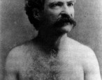 SHIRTLESS SIGHTING: Mark Twain