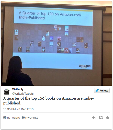 A quarter of what? Confusing Amazon ebook sales stat released