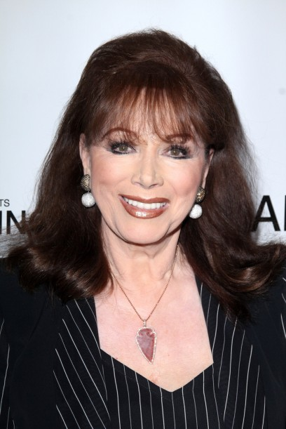 Jackie Collins was the recipient of the OBE from Queen Elizabeth.