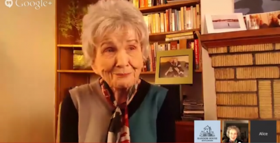 Alice Munro and Margaret Atwood discuss the former's Nobel Prize.