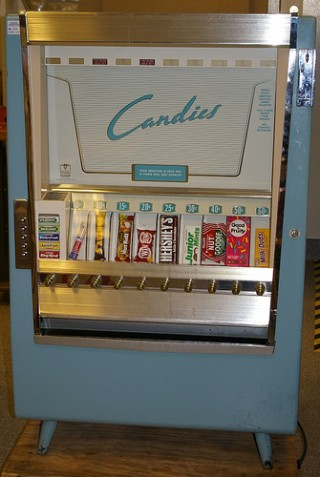 dippin dots vending machine for sale