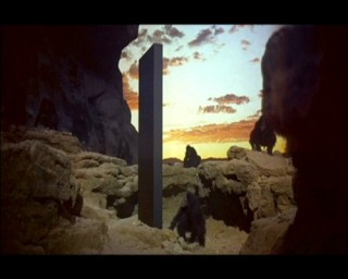 The monolith, 2001: A Space Odyssey