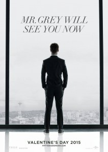 The poster for Fifty Shades of Grey, the movie, is as tame as the first footage the studio released.