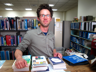 Jace Turner is the Supervising Librarian at Santa Barbara Public Library.