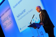 How will Javid cope without the corporate blue tinting of his previous career? Photo from Association of British Insurers via Flickr