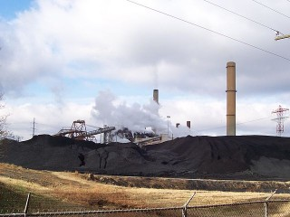 A Dominion plant in Virginia, where the Netflix emissions hide.