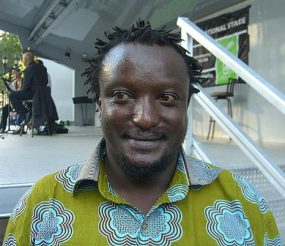 Binyavanga Wainaina ©Nighscream. Via Wikimedia Commons.