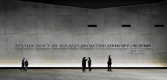 Classicist says quote of Virgil's inscribed on 9/11 Memorial