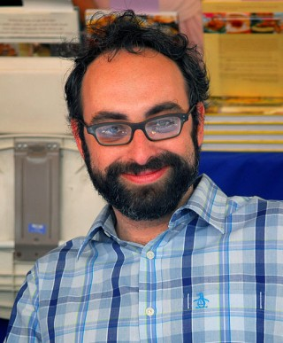 Gary Shteyngart, king of blurbs, via Wikimedia Commons.
