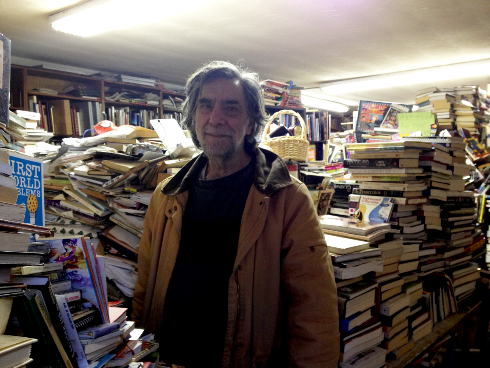 A conversation with a community bookseller