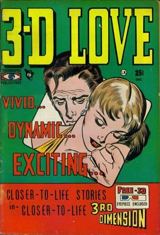 It's not love unless it's in 3-D. And also on Twitter. Image via Wikipedia.