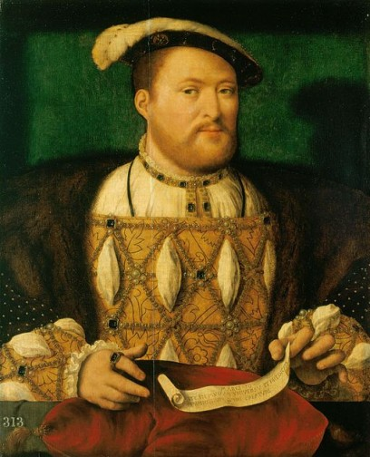 Damian Lewis will play King Henry VIII in a BBC adaptation of Hilary Mantel's Wolf Hall. Via Wikimedia Commons.