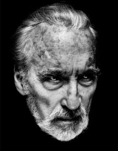 Christopher Lee. Image via the In the Mouth of Dorkness blog.