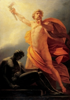 It's too damn hot. (Prometheus bringing the gift of fire to humankind. Image from Wikipedia.)