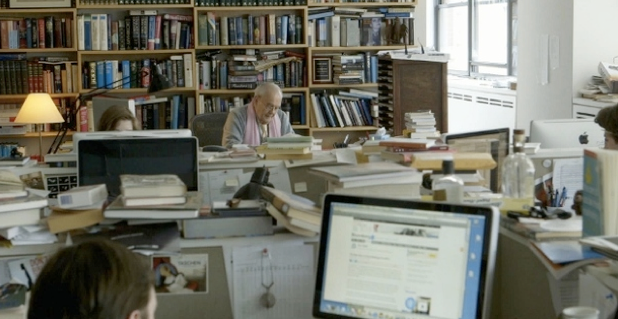 """A still from """"The 50 Year Argument,"""" a film about The New York Review of Books, directed and produced by Martin Scorsese."""