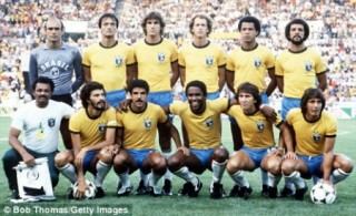 The 1982 Brazil national football team.